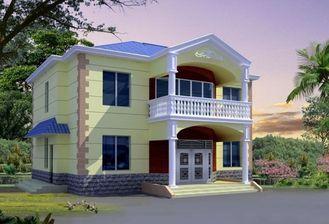 중국 세륨 증명서 조립식 강철 집, 가벼운 강철 구조물 집 별장 협력 업체