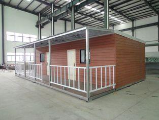 중국 3배 넓은 이동 주택, 쉬운 Dismantlement 이동할 수 있는 모듈방식의 조립 주택 협력 업체