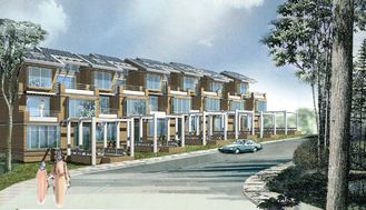 중국 가벼운 강철 구조물 별장 집/태풍 저항 조립식 강철 집 협력 업체