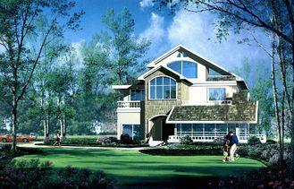 중국 조립식으로 만들어지는 집, PVC 미끄러지는 Windows를 가진 높은 절연제 별장 협력 업체