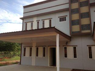 중국 가벼운 강철 구조 조립식으로 만들어진 집 지진 저항/빛 계기 강철 집 협력 업체
