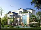 중국 조립식으로 만들어진 집, 가벼운 강철 구조를 가진 조립식으로 만들어진 시골 별장 공장