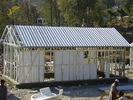 중국 살기를 위한 노란 모듈방식의 조립 주택/빛 강철 구조 조립식 집 장비 공장