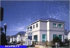 중국 유럽식 조립식으로 만들어진 별장/고품질 가벼운 강철 명성 집 공장