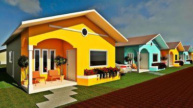 중국 작은 현대 모듈방식의 조립 주택이 직업적인 디자인 조립식 방갈로에 의하여 집으로 돌아옵니다 대리점