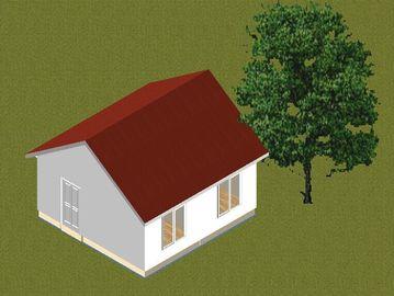 중국 작은 가족 강철 구조 조립식 방갈로는 집으로 돌아오고/현대 조립식 가정 대리점