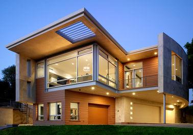 호화스러운 조립식으로 만들어진 강철 집/빛 강철 구조 조립식 금속 집 etc.
