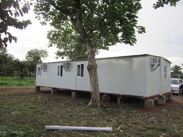 중국 가족 대피소, 임시 대피소를 위한 백색/황색 휴대용 비상사태 대피소 대리점