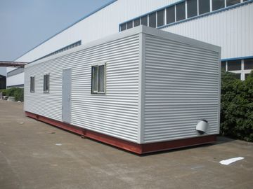 중국 높은 절연제 Eco 통나무집 모듈방식의 조립 주택, 녹색 조립식 모듈 통나무 가정 대리점