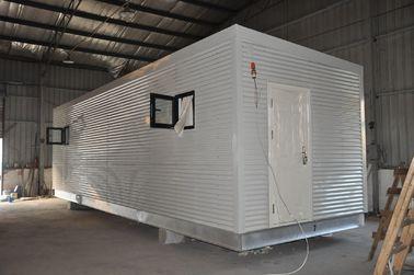 중국 강철 구조 조립식 모듈방식의 조립 주택, 사람들 살기를 위한 이동할 수 있는 초소 대리점