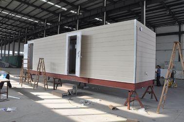 중국 초소를 위한 조립식 이동할 수 있는 오두막 집/강철 구조 조립식 모듈방식의 조립 주택 대리점
