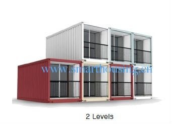 중국 ISO 40HQ 모듈 조립식 콘테이너는, 물 증거 선적 컨테이너 가정 집으로 돌아옵니다 대리점