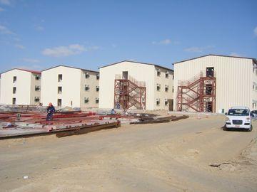 중국 조립식으로 만들어진 아파트 건물, 강철 구조물, 사무실 건물 대리점