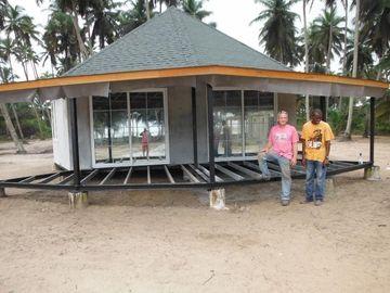 새로운 디자인 조립식 발리섬 방갈로, 해변을 위한 Overwater 방갈로