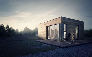 가벼운 강철 구조 저장을 가진 조립식으로 만들어진 집 조립식 정원 스튜디오